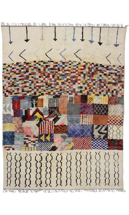 10 x 13 Contemporary Moroccan Rug 21180