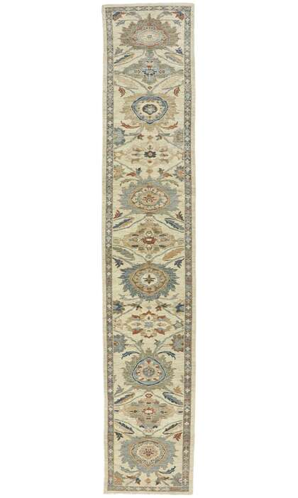 4 x 18 Contemporary Persian Sultanabad Runner 60904