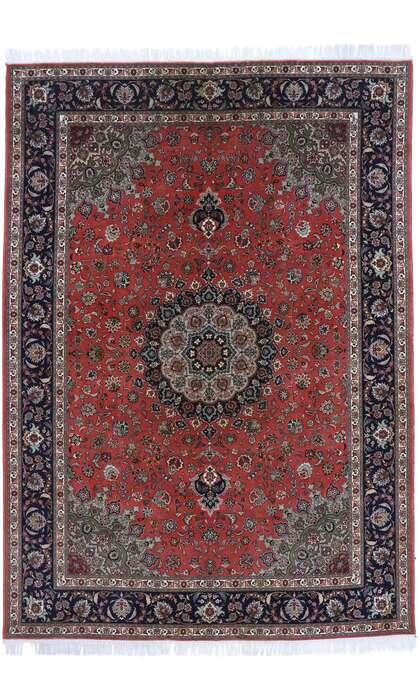 8 x 12 Vintage Persian Tabriz Rug 77730