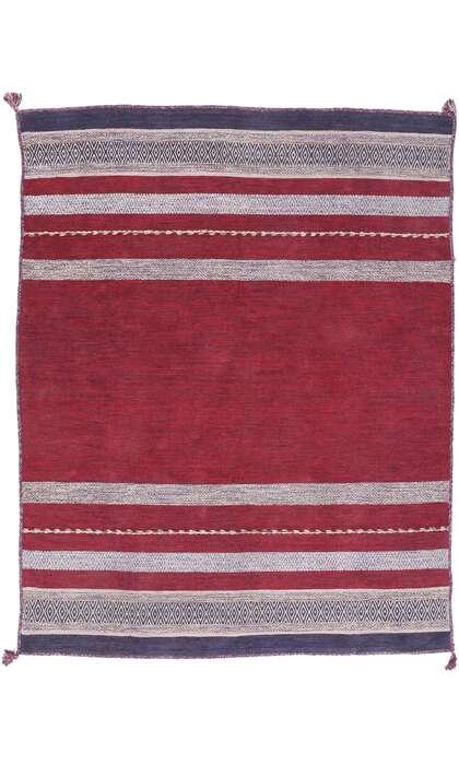 7 x 9 Vintage Moroccan Kilim Rug 77786