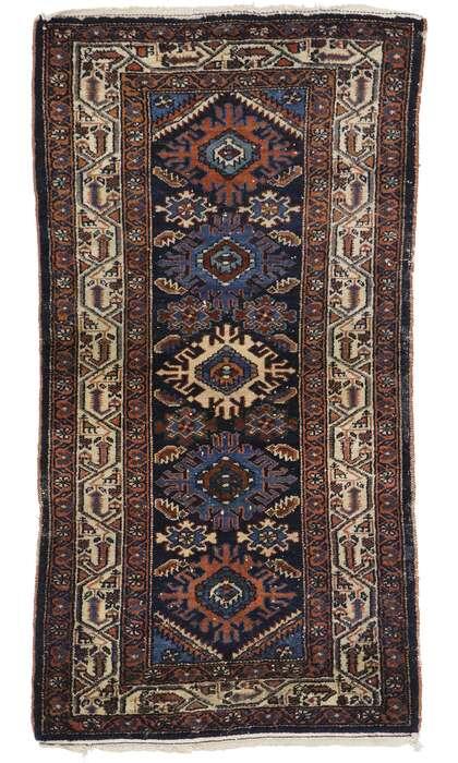 3 x 5 Vintage Persian Heriz Rug 78053