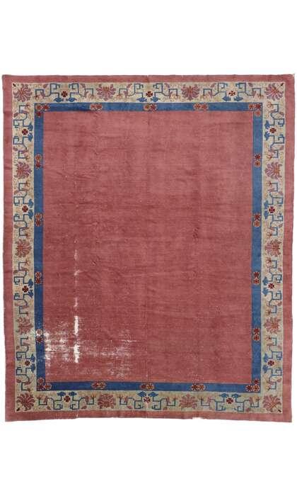 8 x 10 Antique Chinese Peking Rug 78079