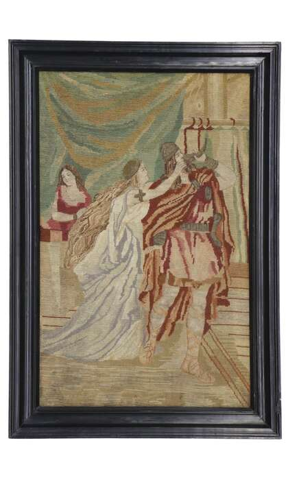 2 x 4 Antique Tapestry 78092