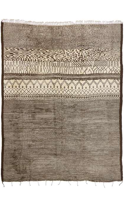 14 x 18 Contemporary Moroccan Rug 21147