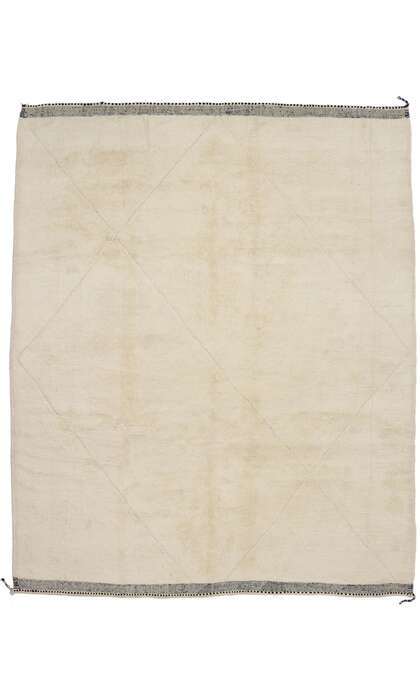 11 x 12 New Contemporary Berber Moroccan Rug with Minimalist Style 21149