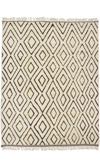 10 x 13 Contemporary Moroccan Rug 21158