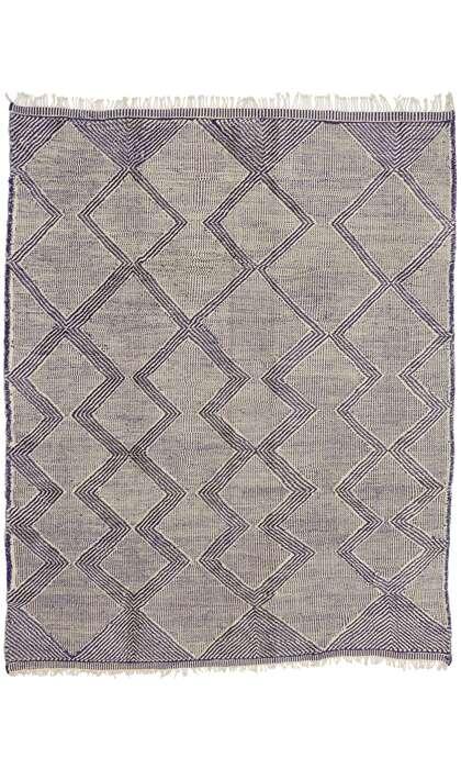 10 x 13 New Contemporary Moroccan Kilim Souf Rug 21166