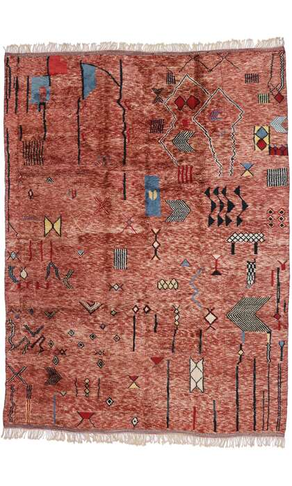 10 x 14 Contemporary Moroccan Rug 21167