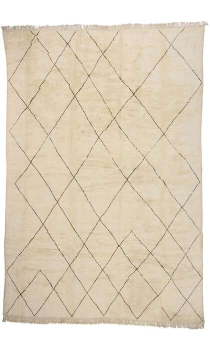 14 x 20 New Contemporary Berber Moroccan Rug with Mid-Century Modern Style 21169