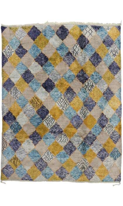 10 x 13 Contemporary Moroccan Rug 21173