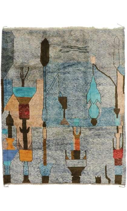 10 x 13 Contemporary Moroccan Rug 21176