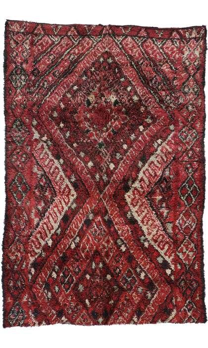 7 x 11 Vintage Moroccan Rug 21194