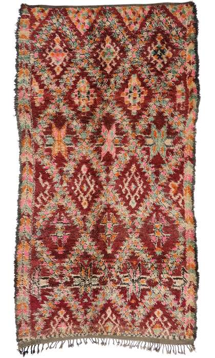 6 x 12 Vintage Moroccan Rug 21195