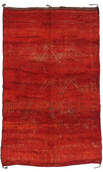 7 x 11 Vintage Moroccan Rug 21196