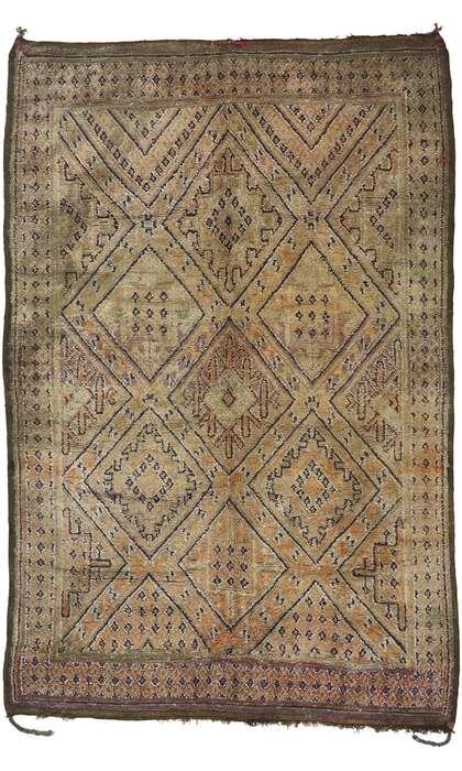 7 x 11 Vintage Moroccan Rug 21198