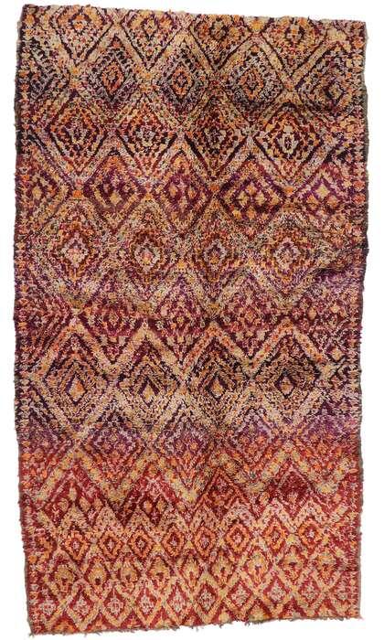 7 x 12 Vintage Moroccan Rug 21201