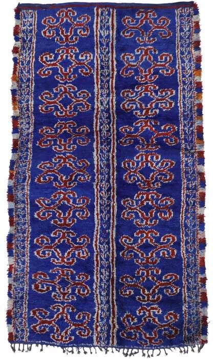 7 x 12 Vintage Moroccan Rug 21205