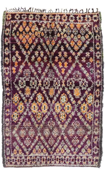 7 x 11 Vintage Moroccan Rug 21211