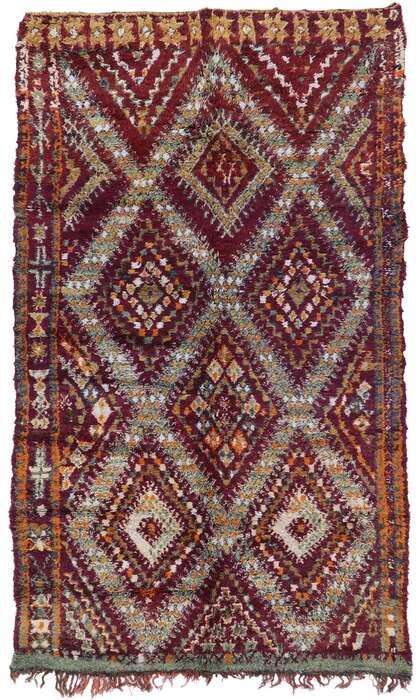 6 x 10 Vintage Moroccan Rug 21212