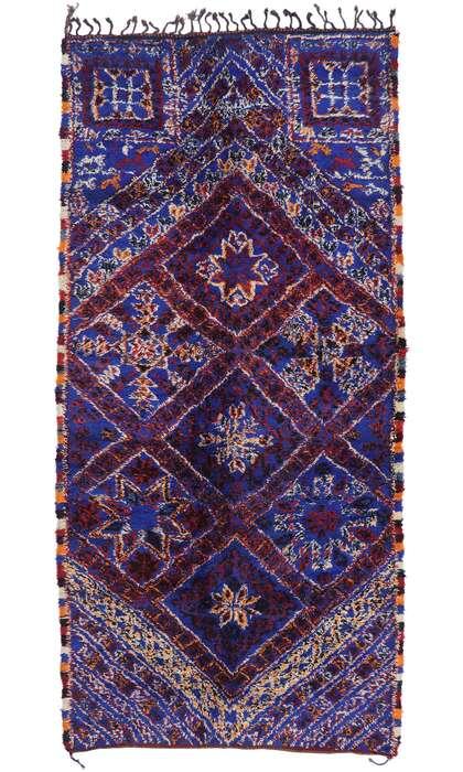 6 x 13 Vintage Moroccan Rug 21215