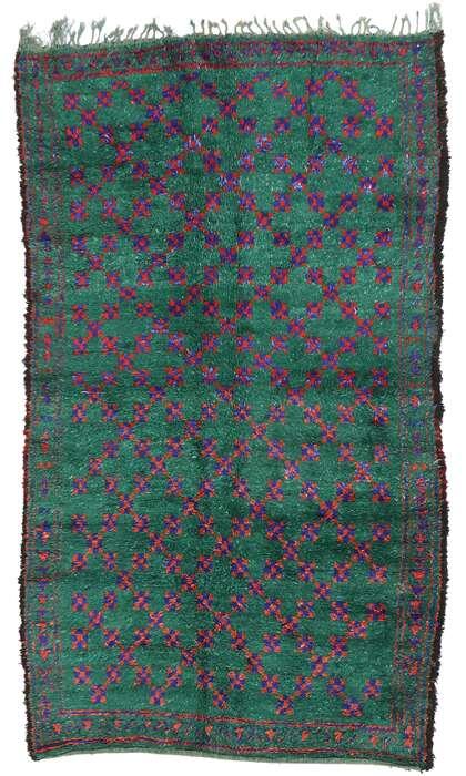 6 x 10 Vintage Moroccan Rug 21216