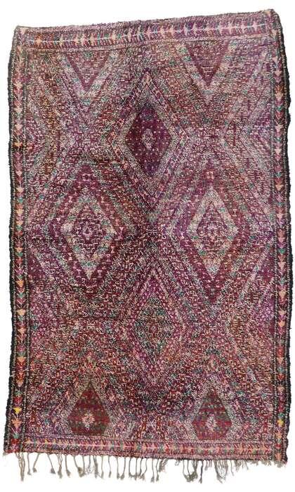 7 x 11 Vintage Moroccan Rug 21222