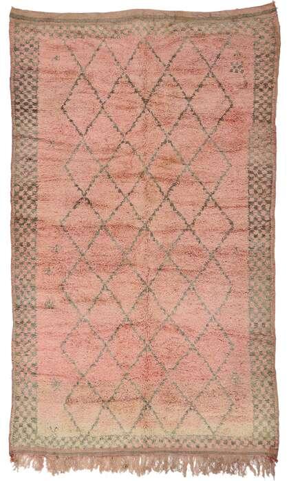 6 x 10 Vintage Moroccan Rug 21247