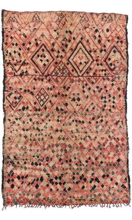 7 x 11 Vintage Moroccan Rug 21265