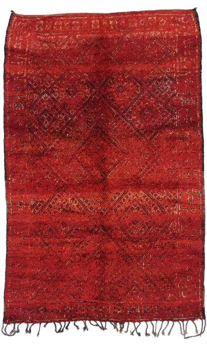 6 x 10 Vintage Moroccan Rug 21269