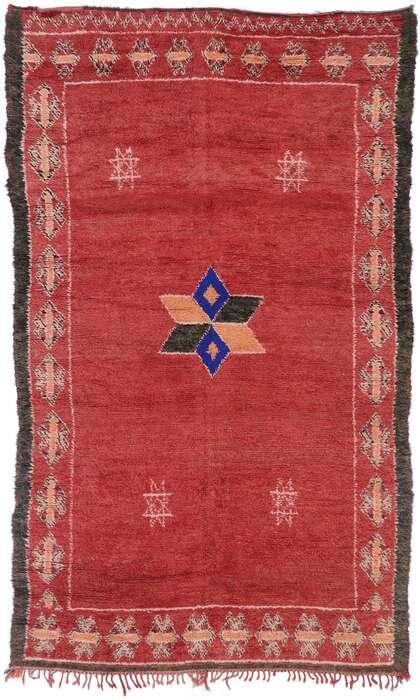 7 x 11 Vintage Moroccan Rug 21272