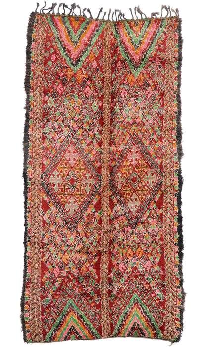 6 x 13 Vintage Moroccan Rug 21273