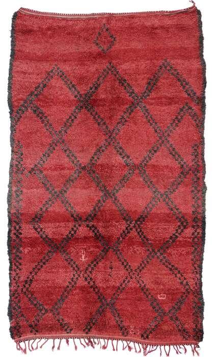 7 x 11 Vintage Moroccan Rug 21276
