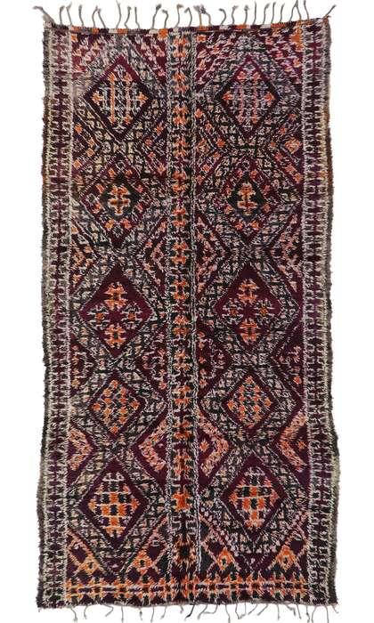 6 x 12 Vintage Moroccan Rug 21304