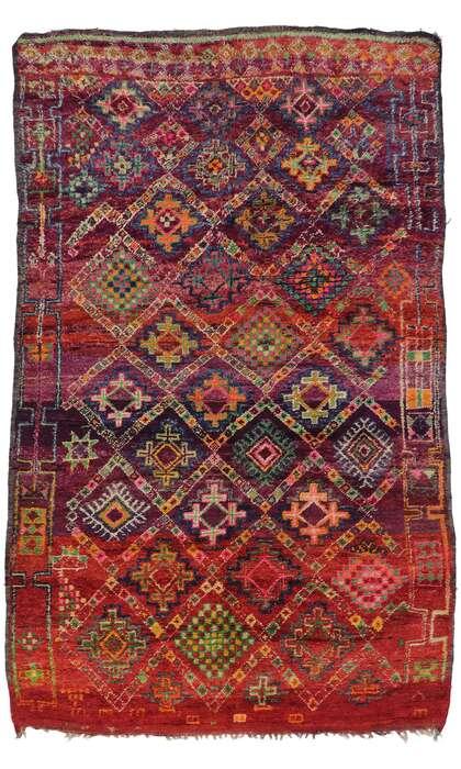 6 x 10 Vintage Moroccan Rug 21321