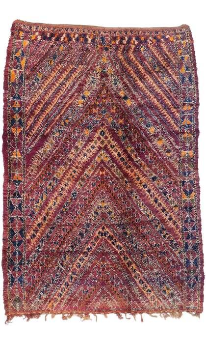 7 x 10 Vintage Moroccan Rug 21324