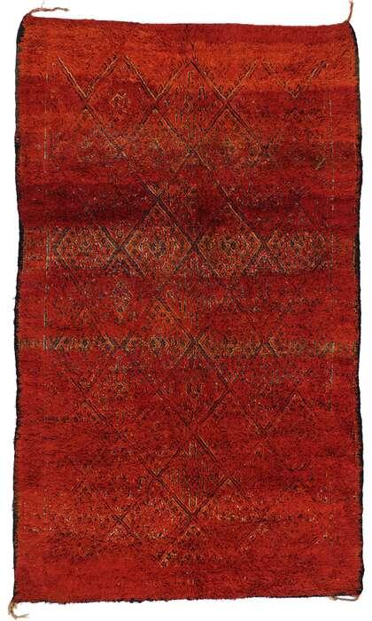 8 x 12 Vintage Moroccan Rug 21333