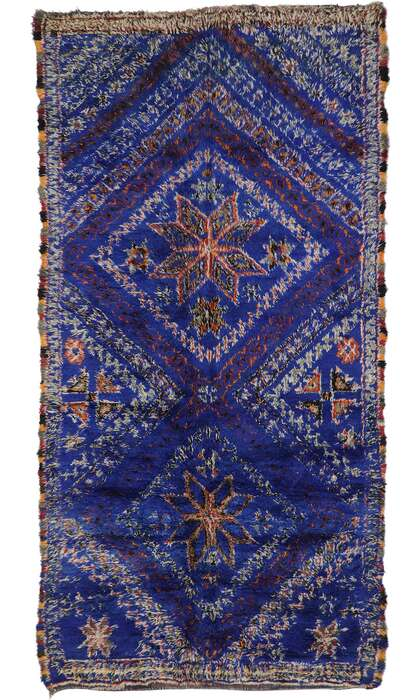 7 x 13 Vintage Moroccan Rug 21337