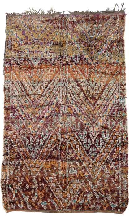 6 x 9 Vintage Moroccan Rug 21342