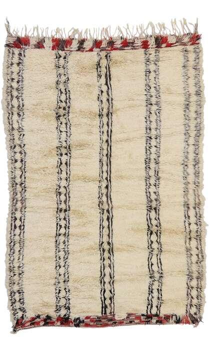 6 x 9 Vintage Moroccan Rug 21377