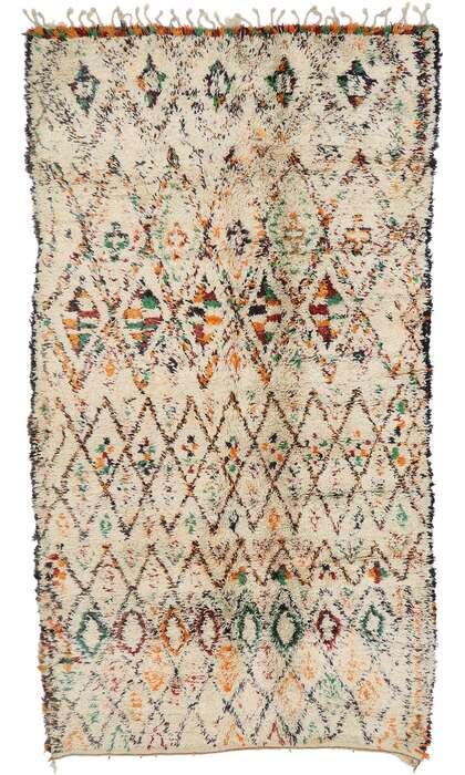 6 x 11 Vintage Moroccan Rug 21386