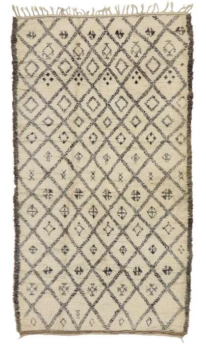 6 x 11 Vintage Moroccan Rug 21389