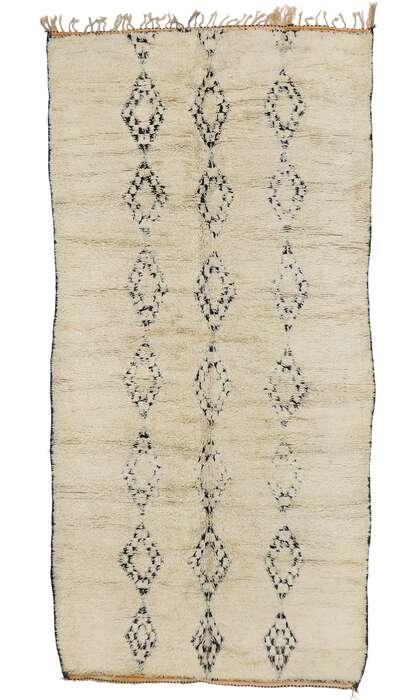7 x 14 Vintage Moroccan Rug 21391