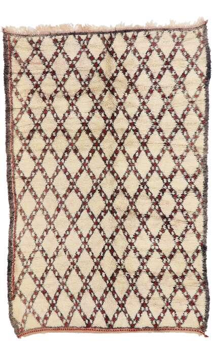 6 x 9 Vintage Moroccan Rug 21392