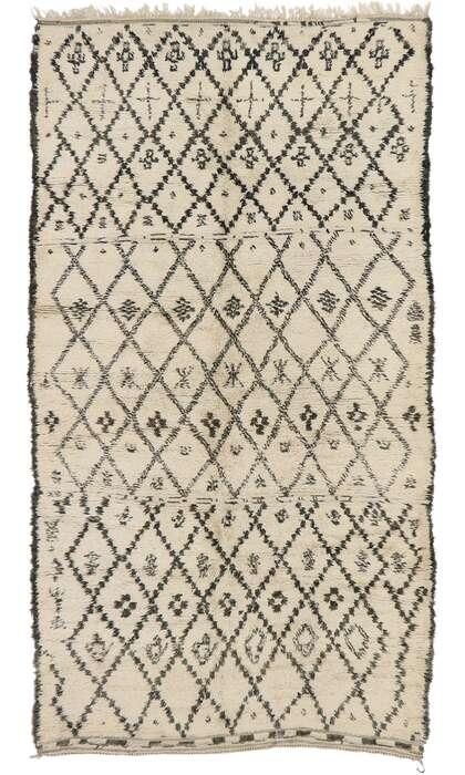 7 x 12 Vintage Moroccan Rug 21393