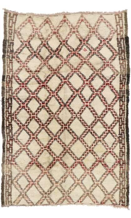 7 x 11 Vintage Moroccan Rug 21411