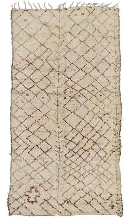6 x 11 Vintage Moroccan Rug 21413