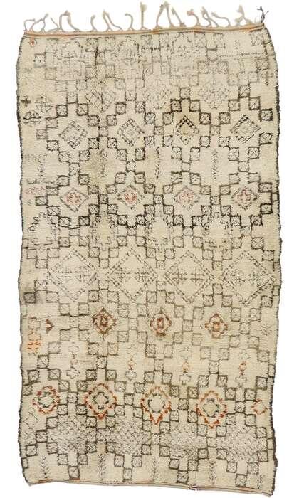 7 x 11 Vintage Moroccan Rug 21416