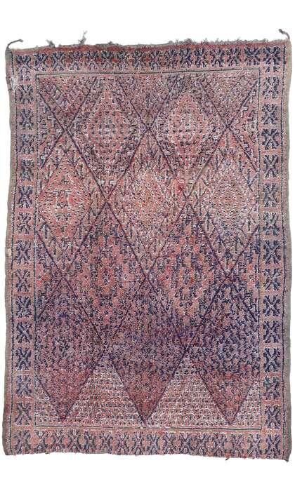 7 x 10 Vintage Moroccan Rug 21447