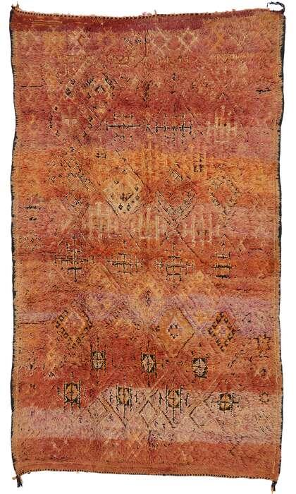6 x 11 Vintage Moroccan Rug 21452