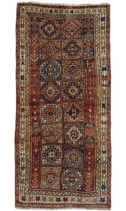 5 x 11 Antique Azerbaijan Rug 60927